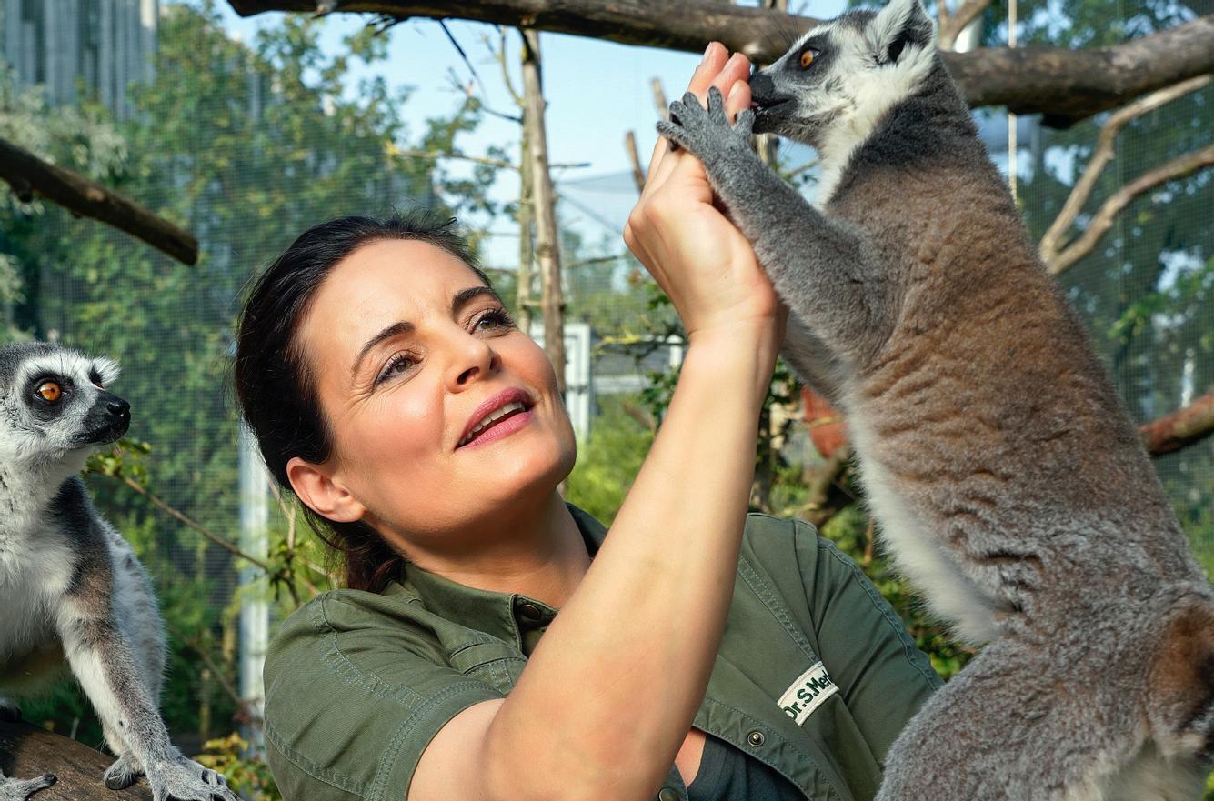 Elisabteh Lanz verkörpert die Tierärztin Dr. Mertens im ARD.