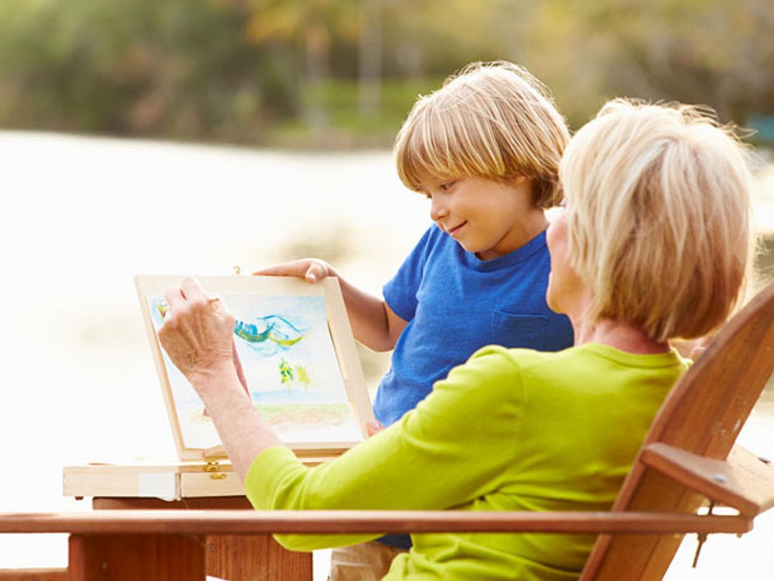 Enkelkind zu Besuch: Tipps gegen Langeweile