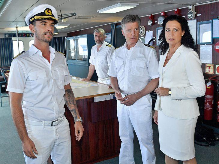 Florian Silbereisen hat als Max Parger anfangs keinen leichten Stand an Bord des Traumschiffs.