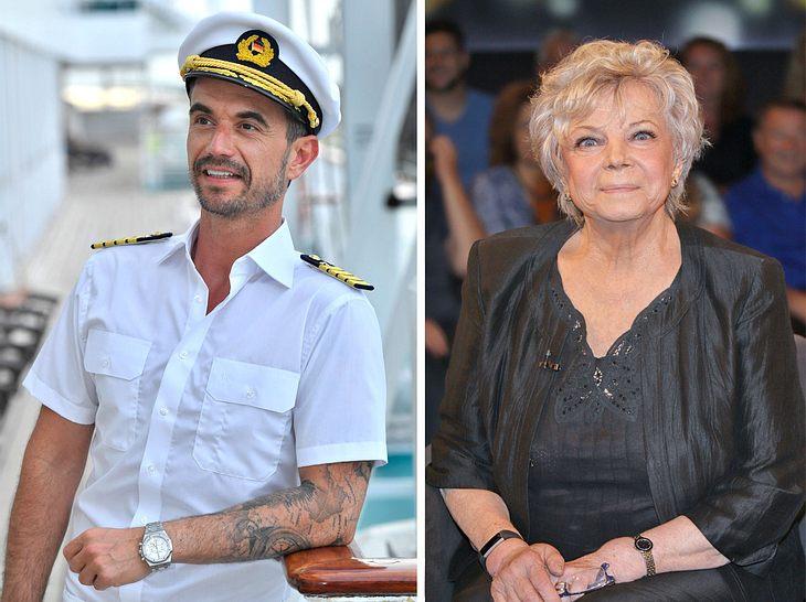 Florian Silbereisen und Grit Boettcher drehen zusammen für den Traumschiff-Ableger Kreuzfahrt ins Glück.
