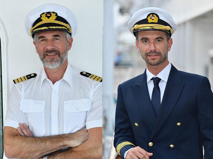 Danile Morgenroth und Florian Silbereisen auf dem 'Traumschiff'.
