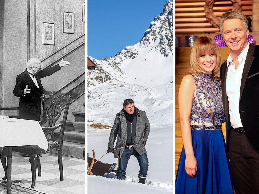 'Dinner For One', 'Der Bergdoktor' und 'Die Silvestershow mit Jörg Pilawa' erwarten uns um den Jahreswechsel.
