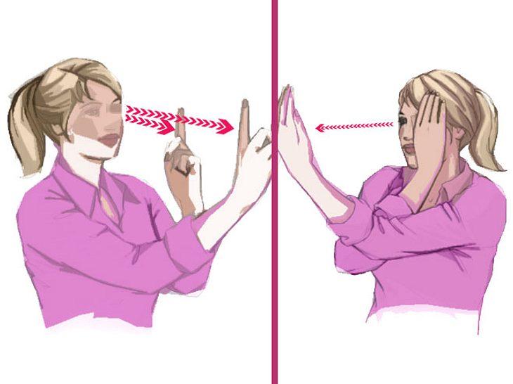7 Übungen gegen müde Augen