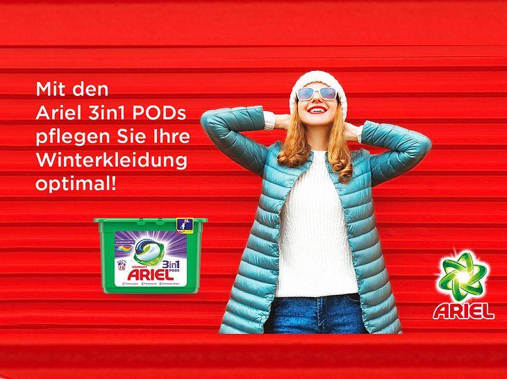 Ariel 3in1 PODs & Fashion-Gutschein gewinnen!