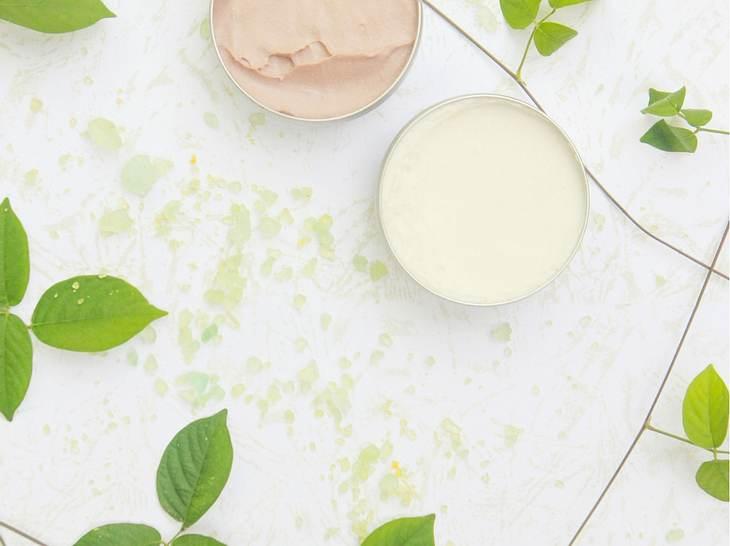 Vegane Gesichtscreme für reife Haut