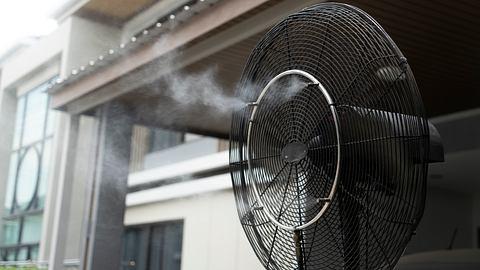 Ventilator mit Wasser - Foto: iStock/802290022