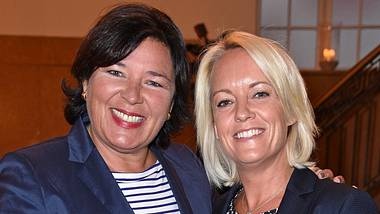Vera Int-Veen und ihre Frau Christiane. - Foto: Tristar Media  / Getty Images