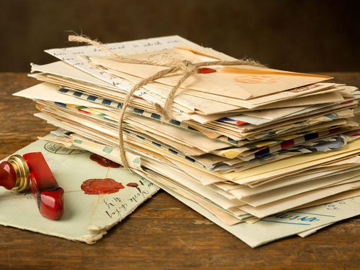 Vergangenheit Briefe Zeiträuber