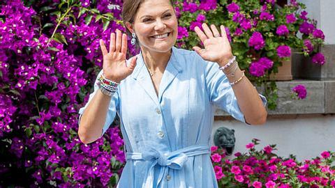 Victoria von Schweden - So herrlich normal ist sie. - Foto: Patrick van Katwijk/Getty Images