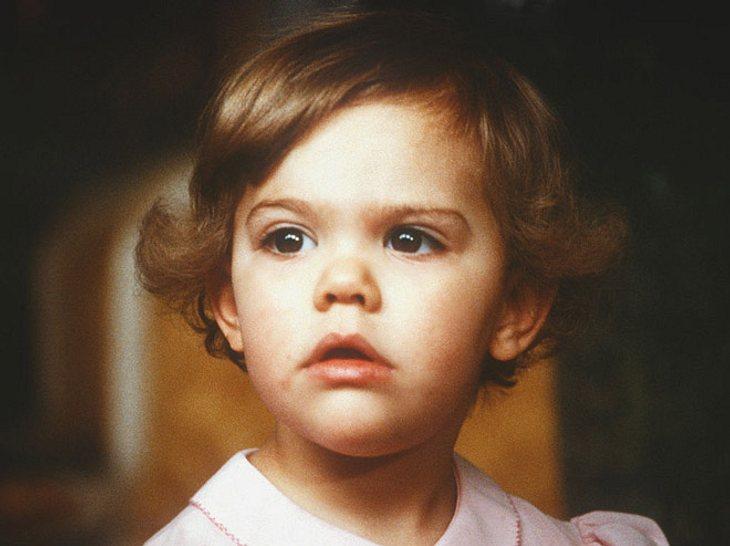 Victoria von Schweden als Kind