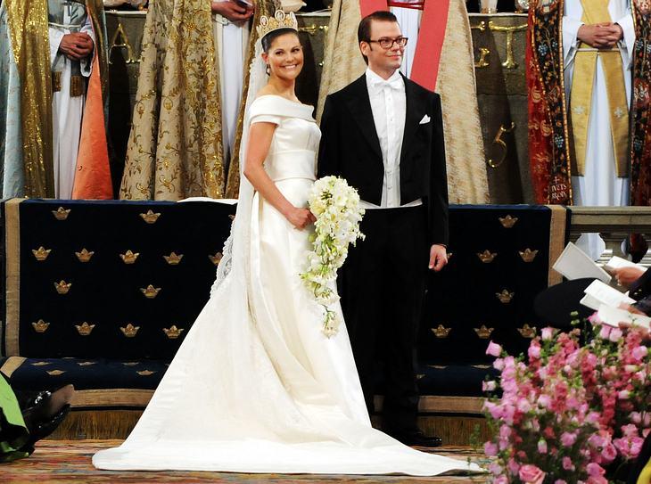 Das Brautkleid von Victoria von Schweden.