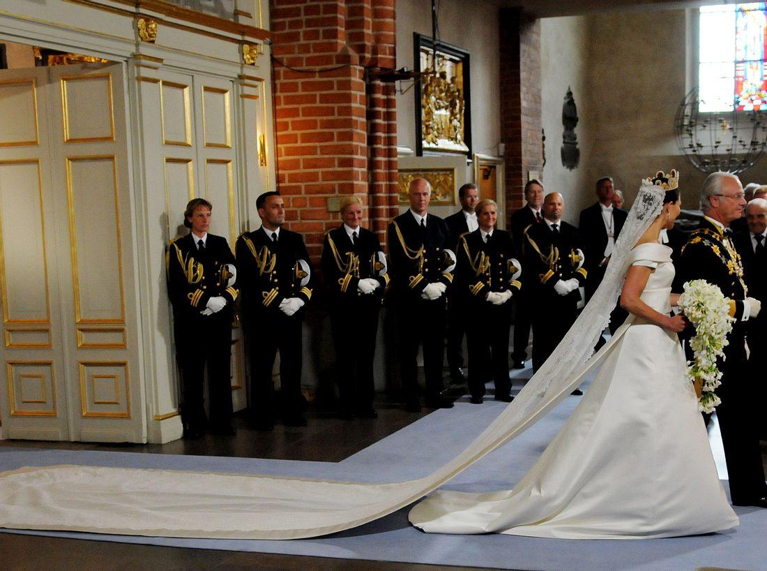 Das Brautkleid von Victoria von Schweden  Victoria, Kate