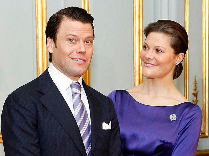 Victoria von Schweden bei ihrer Verlobung