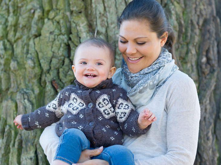 Victoria von Schweden genießt die Zeit mit ihrer Tochter Estelle.