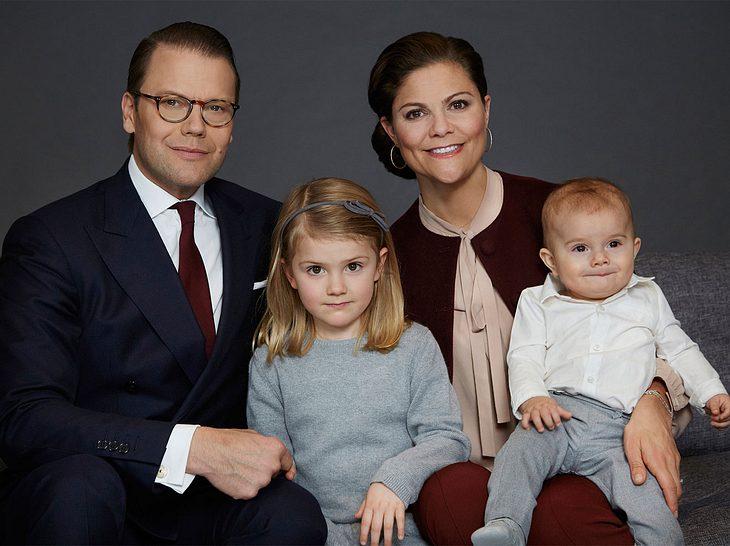 Die Familie von Victoria von Schweden ist komplett.