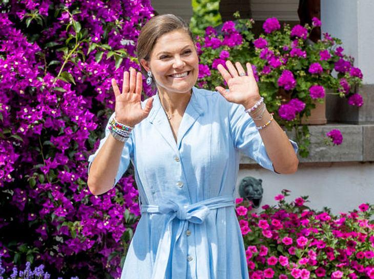Victoria von Schweden - So herrlich normal ist sie.
