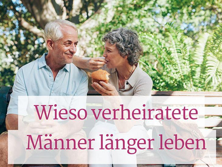 Gute Nachrichten für die Ehe: Verheiratete Männer leben länger!