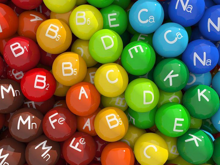 Alles über Vitamine: Welcher Mangel steckt hinter welchen Symptomen?