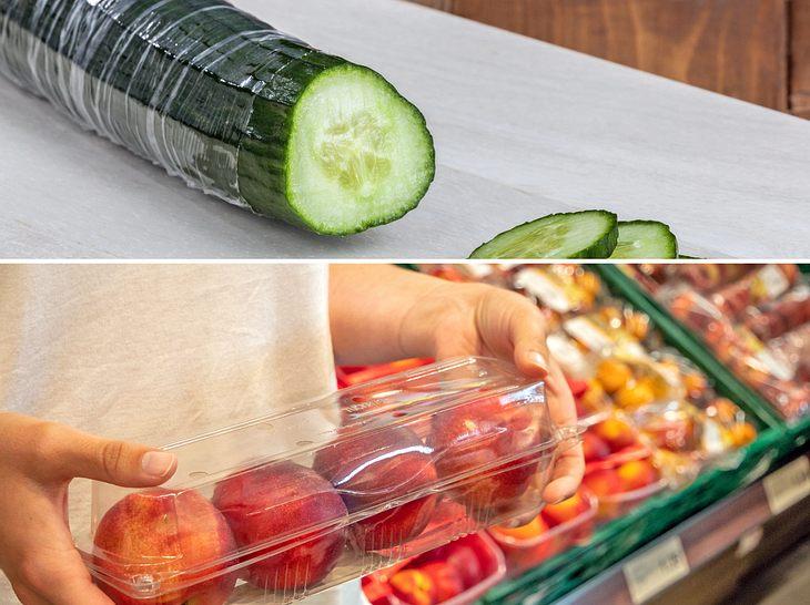 Immer mehr Menschen verzichten auf vorverpackte Lebensmittel und kaufen möglichst plastikfrei ein.
