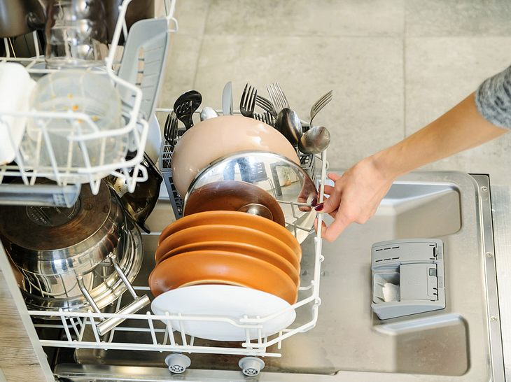 Geschirr wird nicht sauber