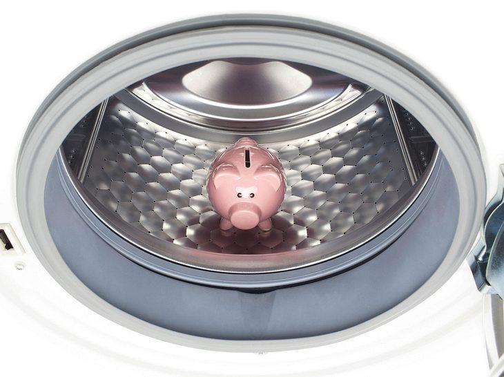 Mit einigen Tricks lässt sich der Stromverbrauch Ihrer Waschmaschine senken.