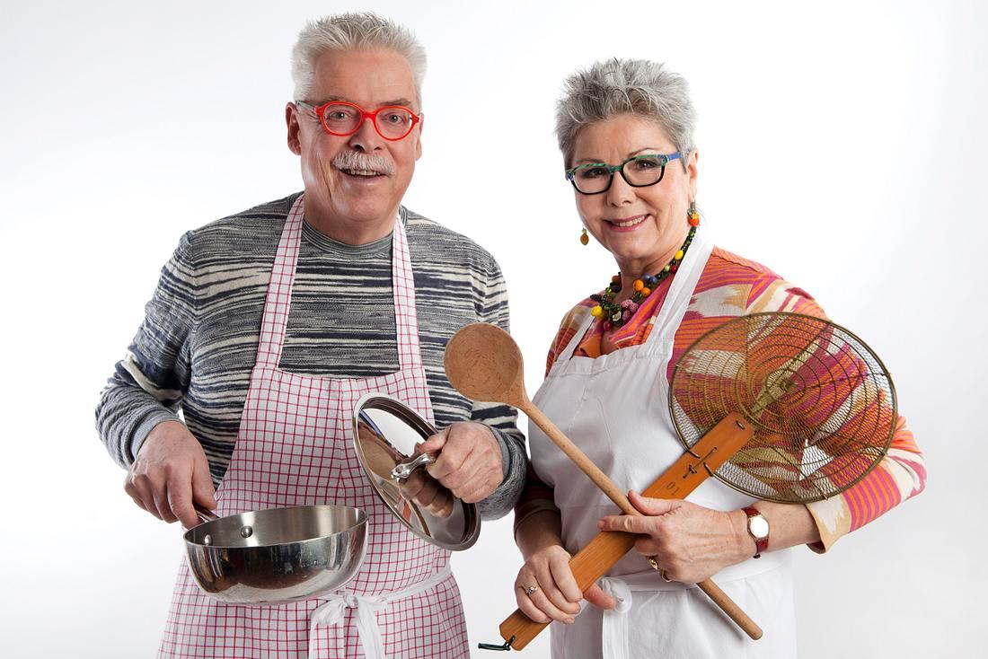 Das kochende Traumpaar vom WDR: Martina und Moritz.
