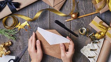 Weihnachtskarten und Co. basteln