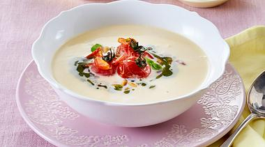 Weiße Tomatensuppe.  - Foto: Food & Foto Experts
