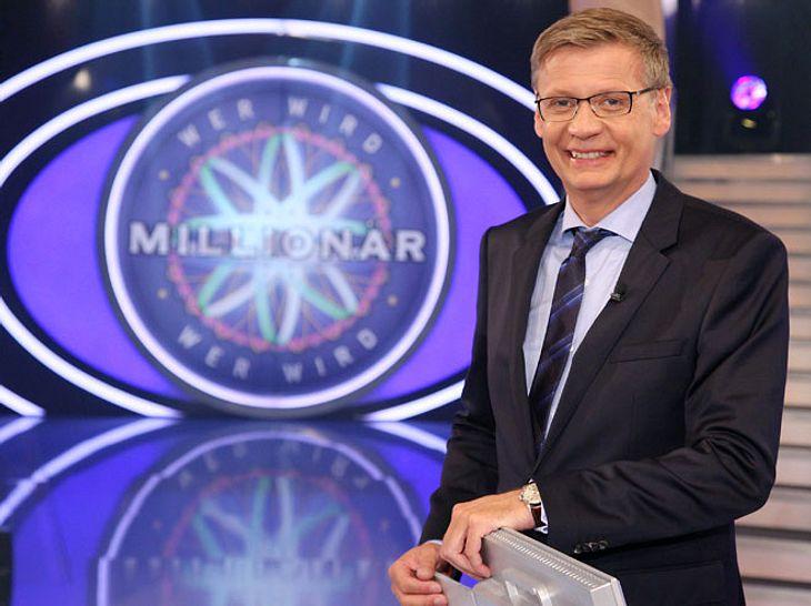 Moderator Günther Jauch lässt seine Zukunft bei Wer wird Millionär offen.