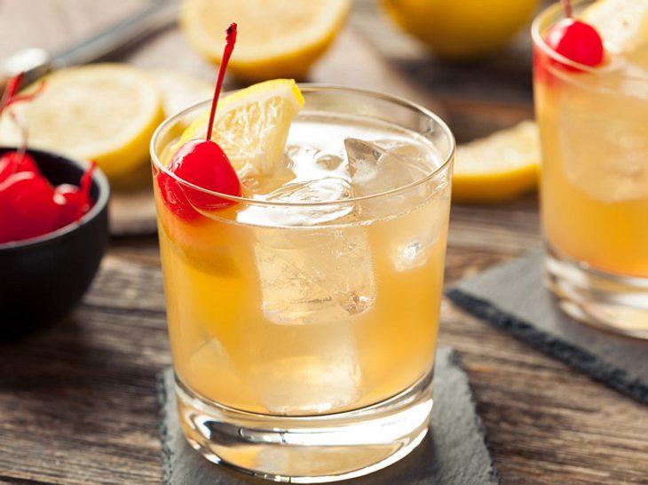 Lecker: Ein erfrischendes Getränk mit Whiskey.