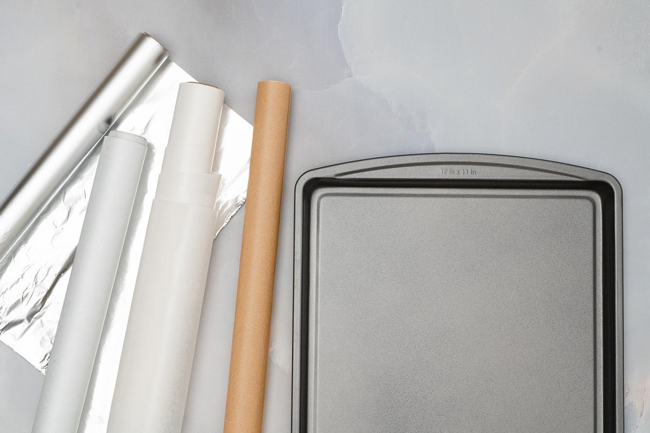 wiederverwendbares Backpapier als Alternative zu Wegwerfprodukten.