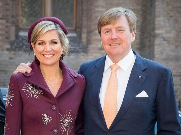 Willem-Alexander und seine Frau Máxima.