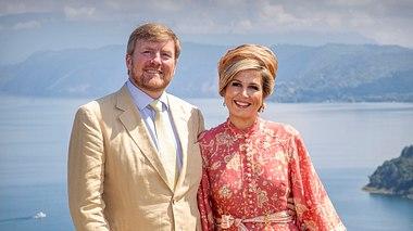 Willem-Alexander und seine Frau Máxima in Indonesien..  - Foto: GettyImages/Patrick van Katwijk