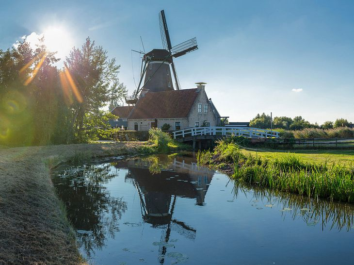 Windmühle in Nordholland
