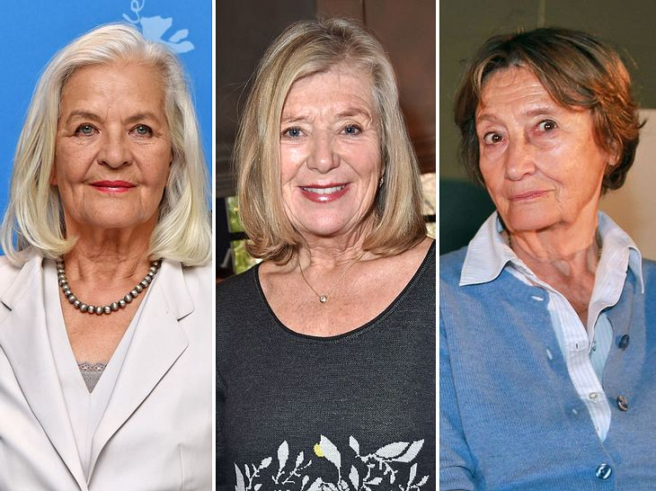Hildegard Schmahl, Jutta Speidel und Gertrud Roll sind die Hauptdarstellerinnen des TV-Films Wir sind doch Schwestern.