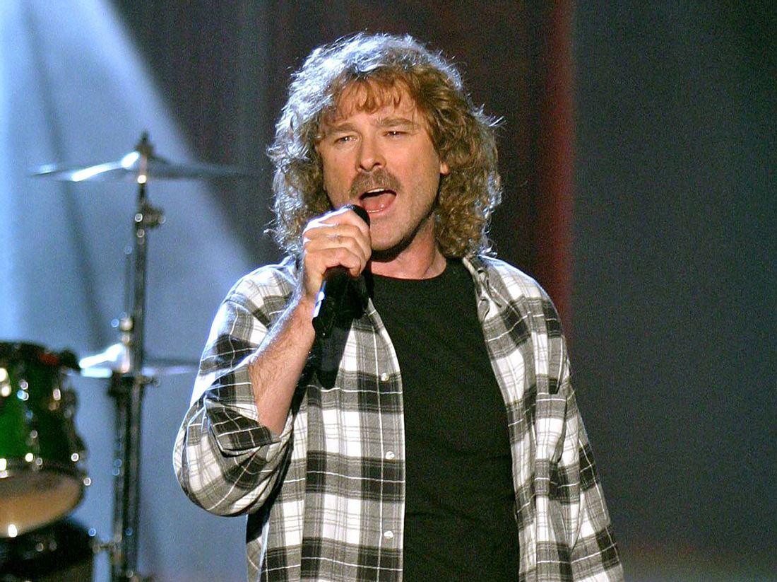 Sänger Wolfgang Petry bei einem Auftritt im Jahr 2003.