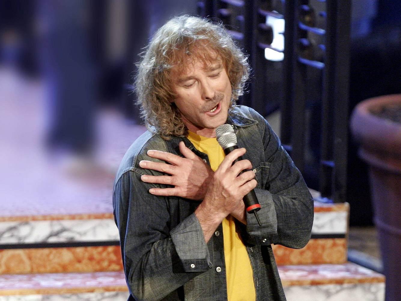 Wolfgang Petry bei einem Auftritt im Jahre 2005.