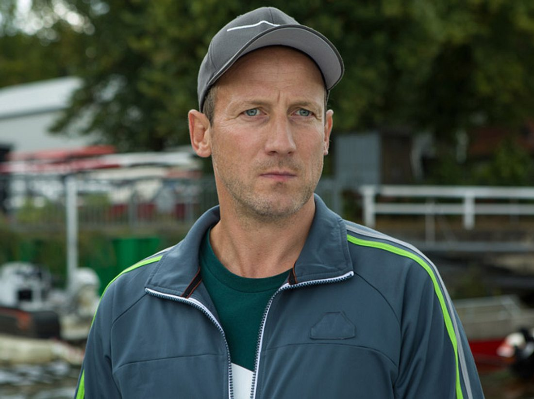Wotan Wilke Möhring im Film 'Am Ruder'.