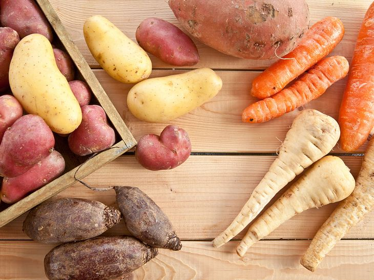 Gesundes Wurzel- und Knollengemüse