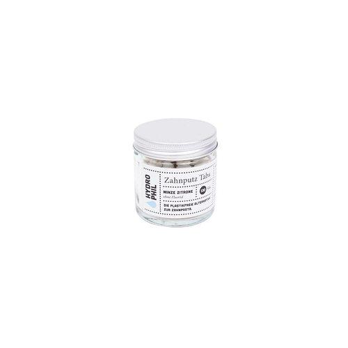 Hydrophil: Zahnputz-Tabs Minze Zitrone, fluoridfrei