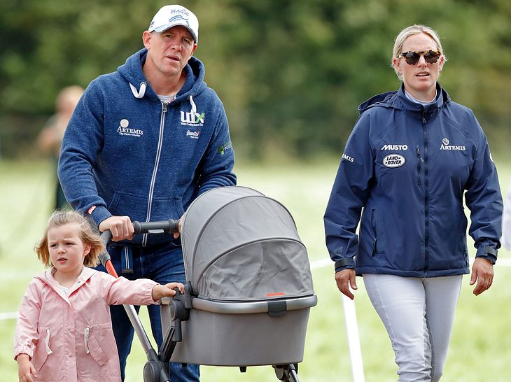 Zara Phillips, Enkelin von Queen Elizabeth II., wurde 2018 erneut Mutter.