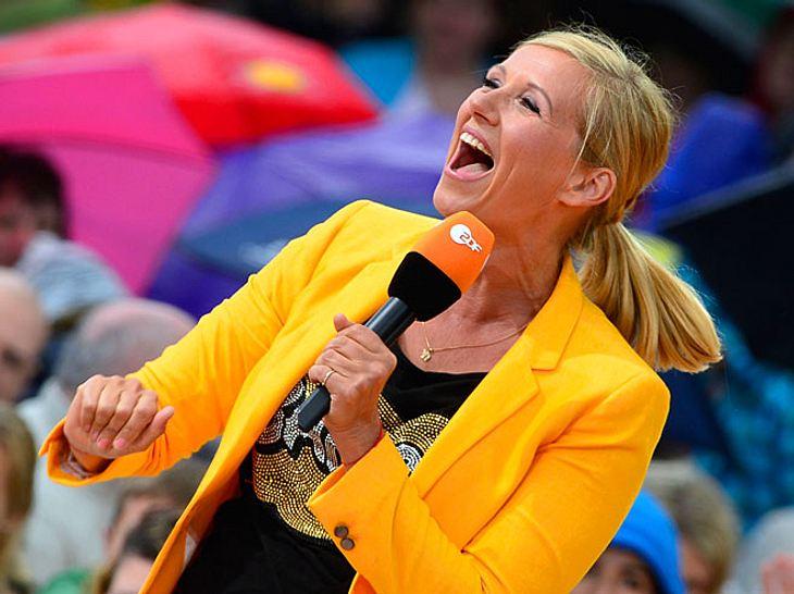 Beim ZDF-Fernsehgarten mit Andrea Kiewel muss man einfach einschalten.