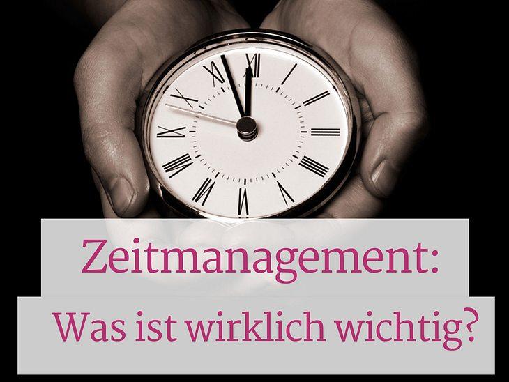Mit dem richtigen Zeitmanagement können wir gelassener durch das Leben gehen.