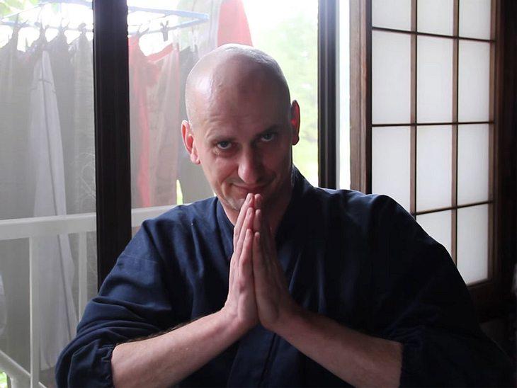 Zenmeister Olaf Nölke ist Abt des japanischen Klosters Antai-ji.