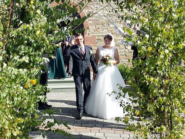 Roland und Franzi sind den Bund der Ehe eingegangen.