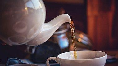Zu heißer Tee kann ungesund sein