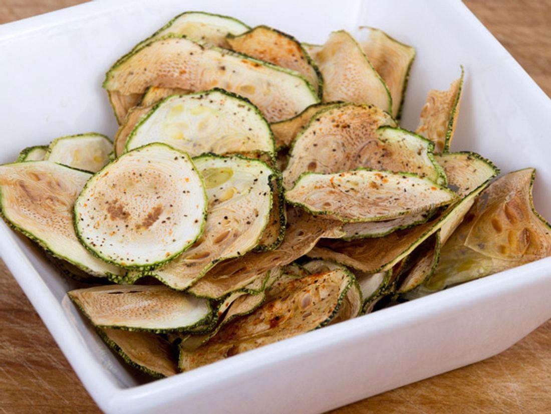 Zucchini Chips selber machen
