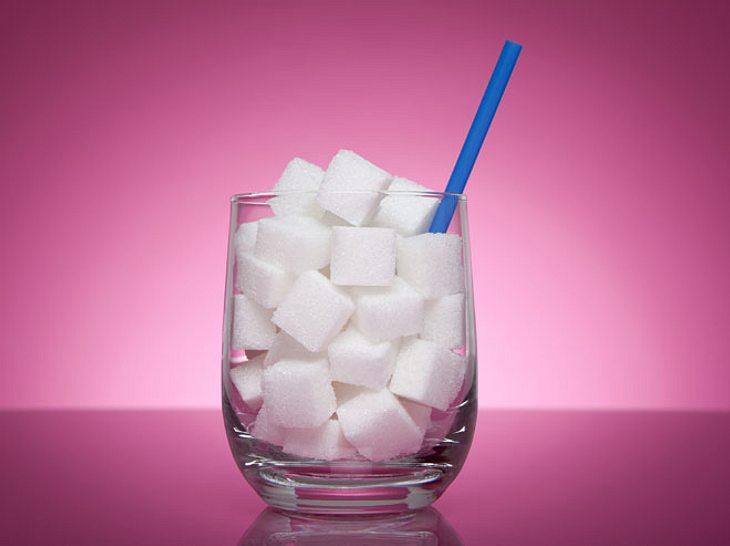 Anzeichen für zu hohen Zuckerkonsum