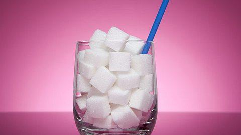 Zu viel Zucker ist ungesund