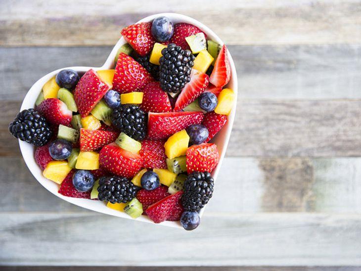 Setzen Sie öfters auf Obst statt auf Zucker.